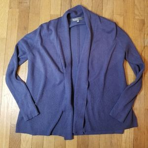 89th and Madison Open Front Sweater